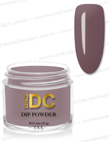 DND DC Dipping Powder - 091 Shadow Gray 1.6oz.
