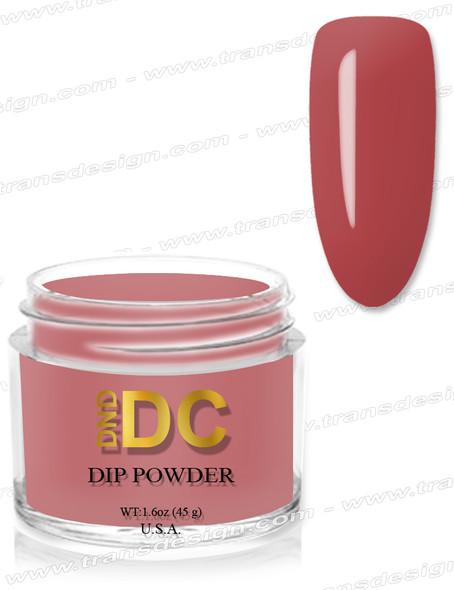 DND DC Dipping Powder - 095 Orange Rust 1.6oz.