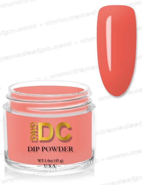 DND DC Dipping Powder - 110 Peach Jealousy 1.6oz.