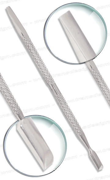 """Stainless Steel Cuticle Pusher Double-Sided 5"""""""