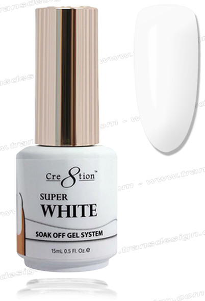 CRE8TION-Super White Gel 0.5oz.