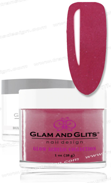GLAM AND GLITS -  Infrared (Glow Acrylic) 1oz.