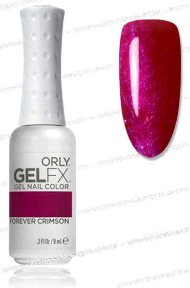 ORLY Gel FX Nail Color - Forever Crimson *