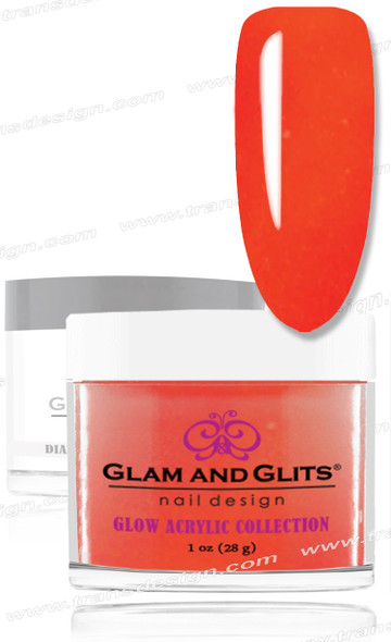 GLAM AND GLITS Glow Collection - Wicked Lava 1oz.