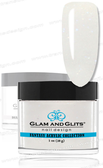 GLAM AND GLITS Fantasy Acrylic - Dove 1oz.
