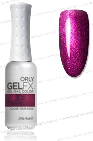 ORLY Gel FX Nail Color - Close Your Eyes *