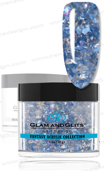 GLAM AND GLITS Fantasy Acrylic - New Wave 1oz.