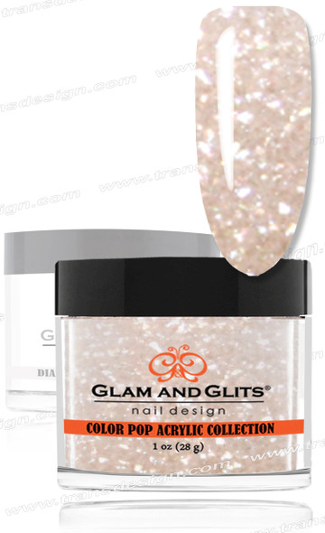 GLAM AND GLITS Color Pop - Lush Coconut 1oz.
