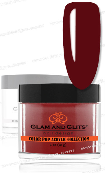GLAM AND GLITS Color Pop - Red Bikini 1oz.