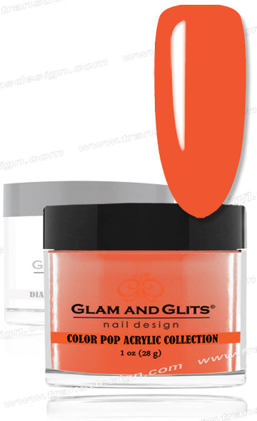 GLAM AND GLITS Color Pop - Coral 1oz.