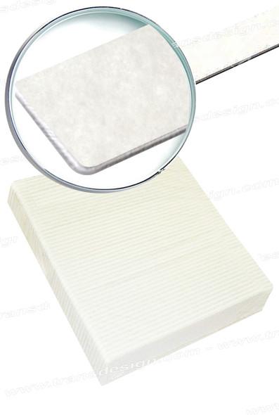 USN FILE - Jumbo White 80/100 Grit 50/Pack