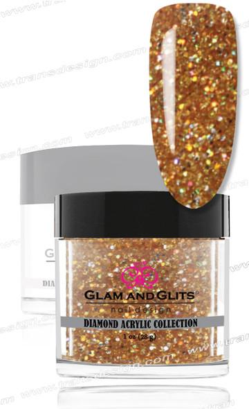 GLAM AND GLITS Diamond Acrylic - 24k 1oz. #DA44