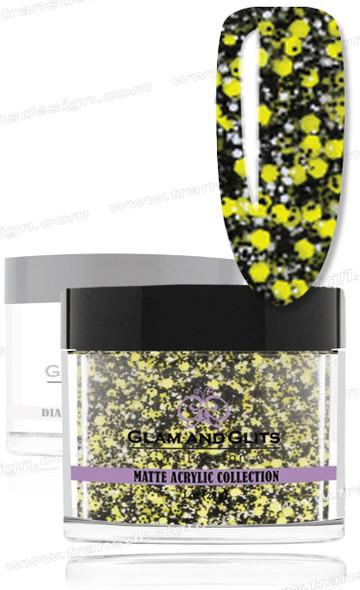 GLAM AND GLITS Matte Acrylic - Lemon Twist 1.oz #MA608
