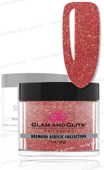 GLAM AND GLITS - Diamond Acrylic Nude 1.oz. #DA80
