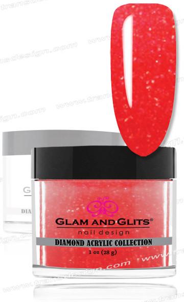 GLAM AND GLITS - Diamond Acrylic Orange Blossom 1.oz. #DA77