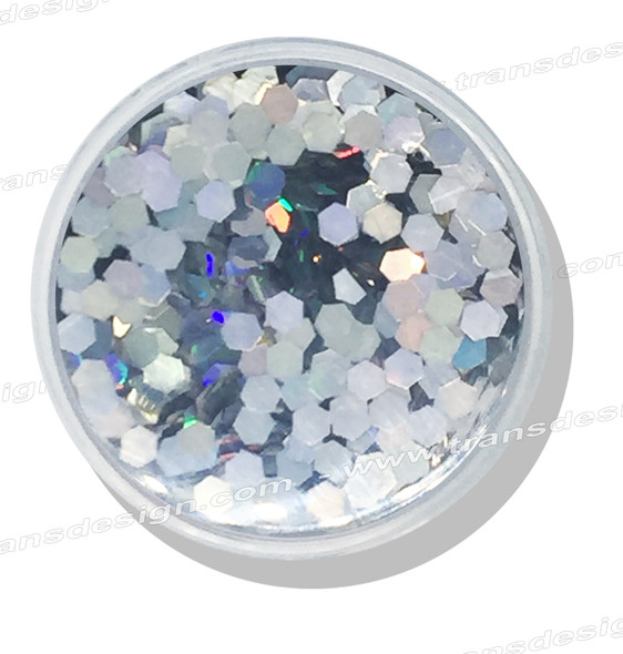 DESIGN - Iridescent Hexagon 0.25oz. Jar