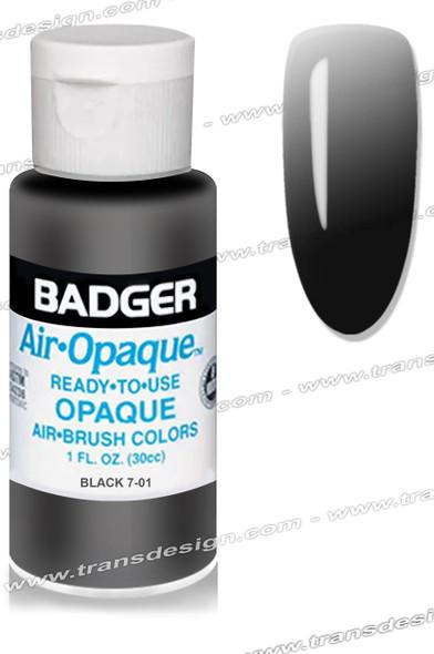 BADGER Airbrush Color - Black 1oz.