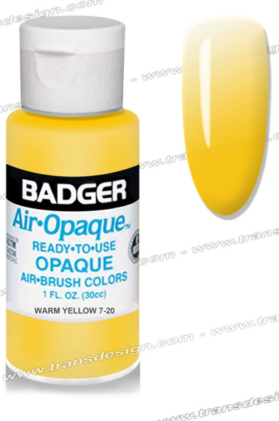 BADGER Airbrush Color - Warm Yellow 1oz.