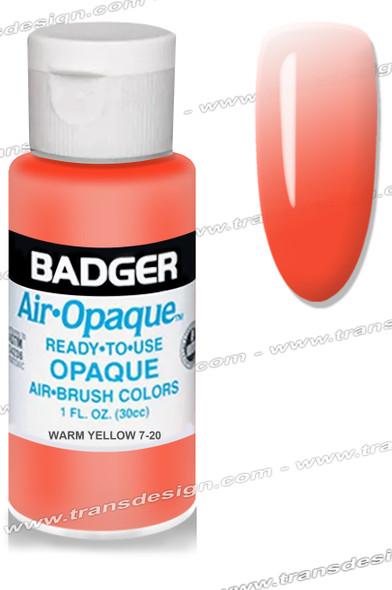 BADGER Airbrush Color - Scarlet 1oz.