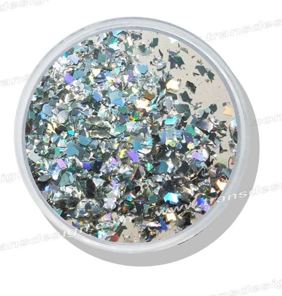 FOIL DESIGN - Iridescent Chopped Jar 0.25oz.