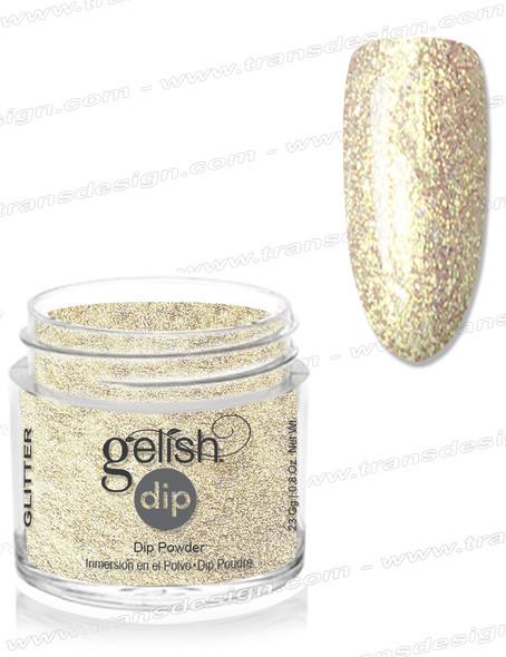 GELISH Dip Powder - Give Me Gold 0.8oz.