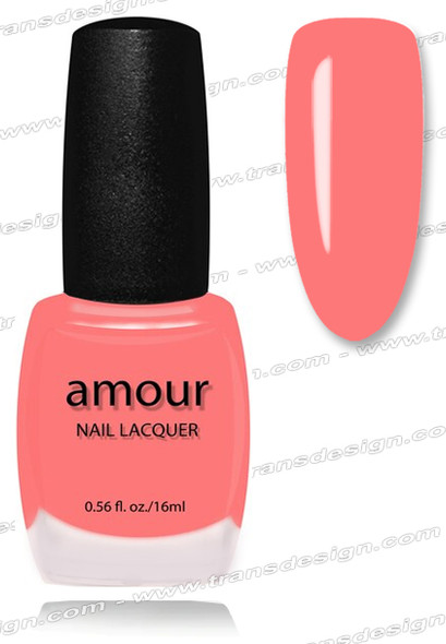 AMOUR Nail Lacquer - Shocking Pink 0.56oz (C)