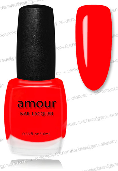 AMOUR Nail Lacquer - Firefighter 0.56oz.
