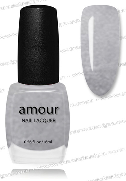 AMOUR Nail Lacquer - Amethyst Heart 0.56oz.