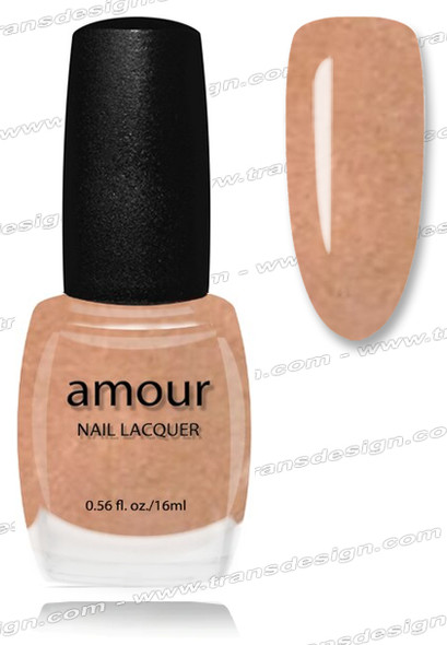 AMOUR Nail Lacquer - Peachstock 0.56oz