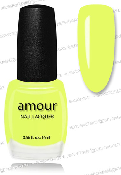AMOUR Nail Lacquer - Lemon Tonic 0.56oz.