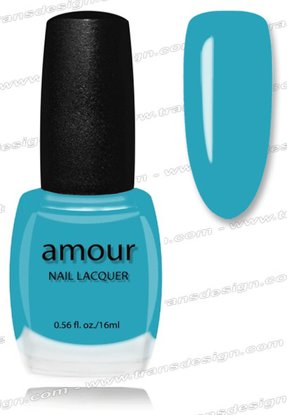 AMOUR Nail Lacquer - Ruby Kisses 0.56oz (C)