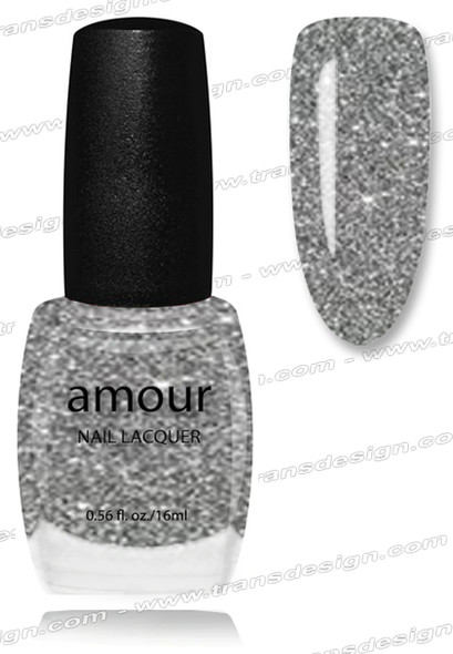 AMOUR Nail Lacquer - Crystale 0.56oz. (G)