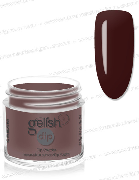 GELISH Dip Powder - Black Cherry Berry 0.8oz.