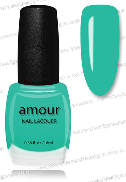 AMOUR Nail Lacquer - Aqua Woman 0.56oz (C)