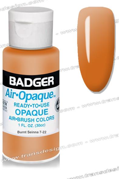 BADGER Airbrush Color - Burnt Sienna 1oz.