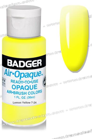 BADGER Airbrush Color - Lemon Yellow 1oz.
