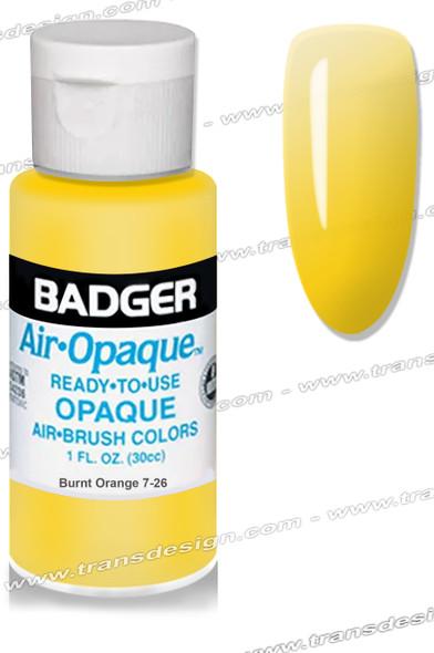 BADGER Airbrush Color - Burnt Orange 1oz.