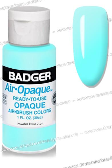 BADGER Airbrush Color - Powder Blue 1oz.