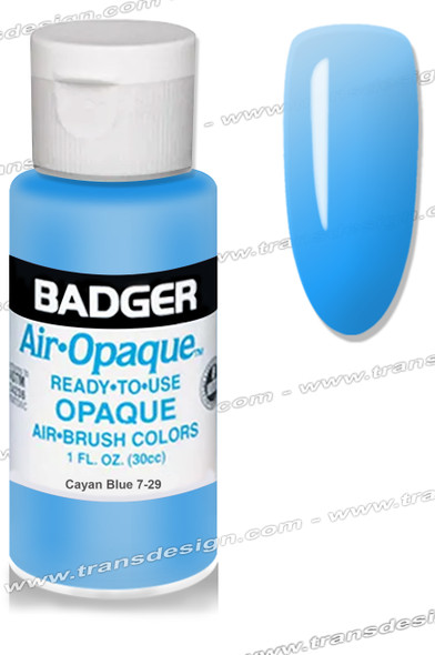 BADGER Airbrush Color - Cayan Blue 1oz.