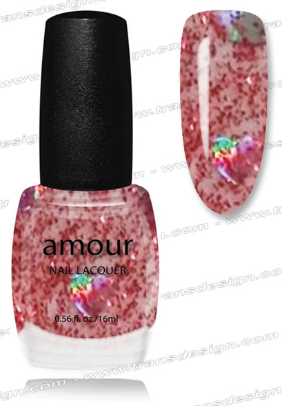 AMOUR Nail Lacquer - Be my love 0.56oz