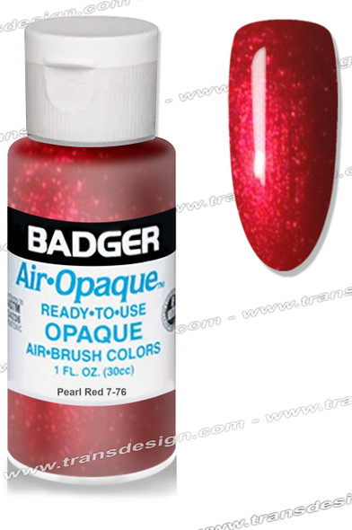 BADGER Airbrush Color - Pearl Red 1oz.
