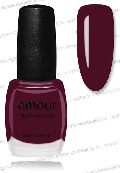 AMOUR Nail Lacquer - Yonkers Maroon 0.56oz