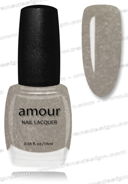 AMOUR Nail Lacquer -  Brooklyn Charcoal 0.56oz