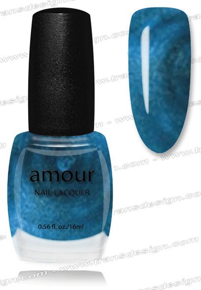 AMOUR Nail Lacquer - Midnight Blue 0.56oz
