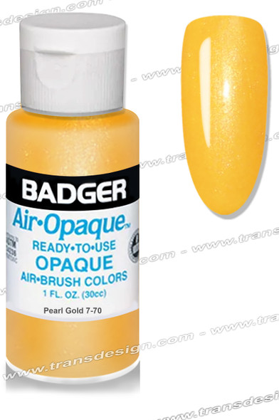 BADGER Airbrush Color - Pearl Gold 1oz.