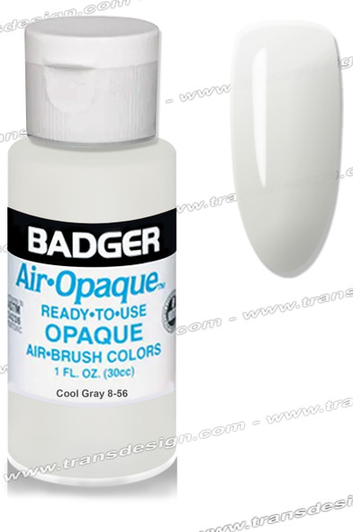 BADGER Airbrush Color - Cool Gray 4oz.