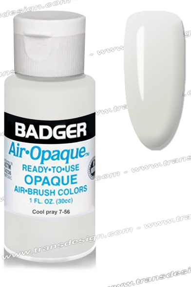BADGER Airbrush Color - Cool Gray 1oz.