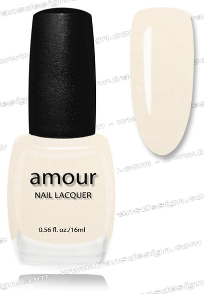 AMOUR Nail Lacquer - French Vanilla 0.56oz