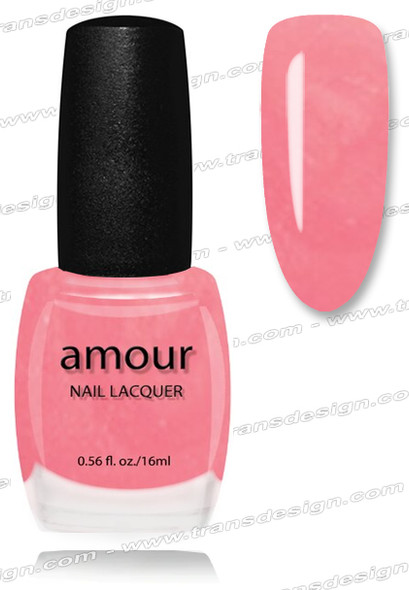 AMOUR Nail Lacquer - Fifth Ave Pink 0.56oz