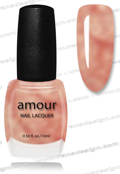 AMOUR Nail Lacquer - Wall St. Peach 0.56oz